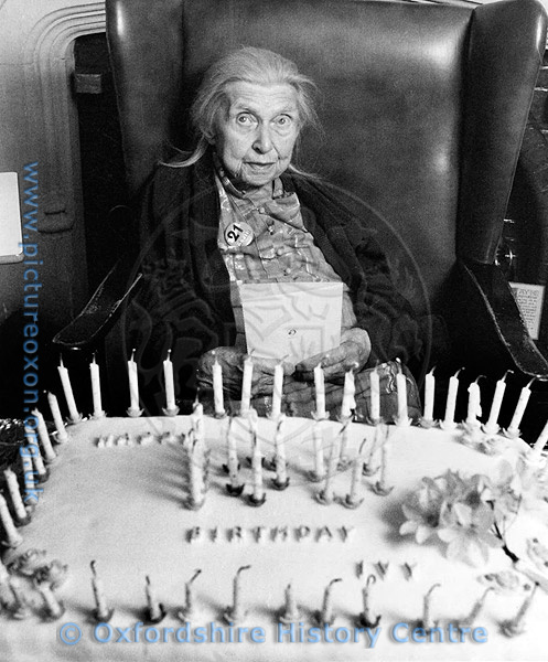 Ivy Abrams. 100 years old.