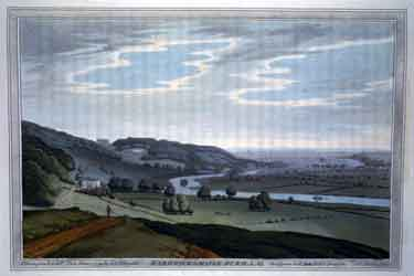 Views of the River Thames - 76 Coloured plates from Thames Head to Sheerness - Mapledurham
