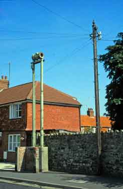 Second World War air raid siren