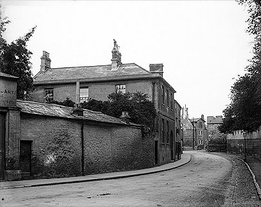 Oxford, Longwall Street - North end, looking to St Cross Road