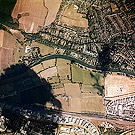 Astral 1:10,000 scale colour aerial photographic survey of Oxfordshire - sortie 50, frame 1195