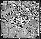 Fairey 1:8000 scale black and white photographic survey of Oxfordshire - sortie 38, frame 17-18