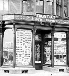 Henry Taunt's shop, Broad Street, Oxford, 1874-1894